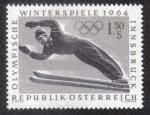 Sellos de Europa - Austria -  Juegos Olimpicos de Innsbruck