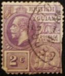 Sellos del Mundo : America : Guyana : king George V