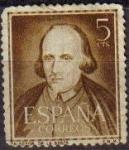 Sellos de Europa - España -  España 1950 1071 Sello º Literatos Calderón de la Barca Timbre Espagne Spain Spagna Espana Spanje Sp