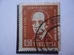 Sellos de America - Venezuela -  Pedro Gual 1862-1962 - Centenario de su Muerte.