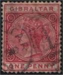 Sellos del Mundo : Europa : Gibraltar : Victoria