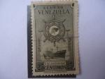 Sellos de America - Venezuela -  Flota Mercante Gran Colombiana-5 de Juluio 1947
