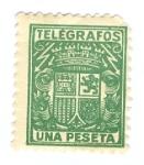 Sellos de Europa - España -  TELEGRAFOS