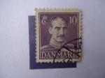 Sellos de Europa - Dinamarca -  Rey Federico IX. (1899-1972)