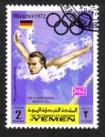 Sellos de Asia - Yemen -  Juegos Olímpicos de Verano 1972, Munich