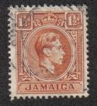 Sellos del Mundo : America : Jamaica : King George VI
