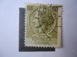Sellos de Europa - Italia -  Moneda Antigua Siracusana (S/i.998J)