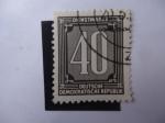 Sellos de Europa - Alemania -  Cifras- S/031