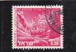 Sellos de Asia - Israel -  paisaje de En Avedat