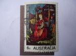 Sellos de Oceania - Australia -  Christmas 1970 - La Virgen y el Niño.