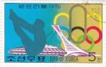 Sellos del Mundo : Asia : Corea_del_norte :  Olimpiada Montreal-76