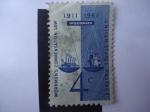 Sellos de America - Estados Unidos -  Wisconsin - Workmen´s Compensation Law 1911-1961. S/H86.