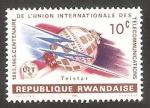 Sellos de Africa - Rwanda -  Centº de la Unión Internacional de Telecomunicaciones