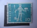 Sellos de Europa - Suiza -  Helvetia -S/383.