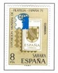Sellos de Europa - España -  Sahara Exposicion Mundial de Filatelia