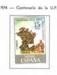 Sellos de Europa - España -  Sahara Centenario de la U. P. (1)