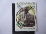 Sellos de Europa - España -  Ed: 3776 - 75 Anivº de los Colegios de Agentes Comerciales - Homenje al Agente Comercial. Estación d