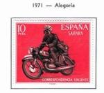 Sellos de Europa - España -  Sahara Alegoria (1)