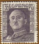 Sellos del Mundo : Europa : España : General Franco Tipo 1942