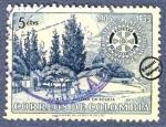 Sellos del Mundo : America : Colombia : Cincuentenario del Rotary Internacional 1905-1955