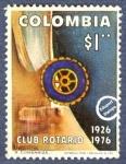 Sellos del Mundo : America : Colombia : 50º Aniversario del Club Rotario de Colombia 1926-1976