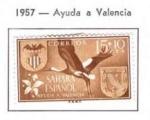 Sellos de Europa - España -  Sahara Ayuda a Valencia