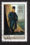 Sellos del Mundo : Europa : Rumania : Tudor Vladimirescu (1780-1821) líder rebelde