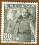 Sellos del Mundo : Europa : España : Franco y Castillo de la Mota