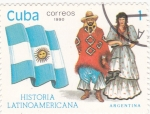 Sellos del Mundo : America : Cuba :  Argentina-História latinoamericana