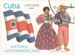 Sellos del Mundo : America : Cuba :  Costa Rica-História latinoamericana