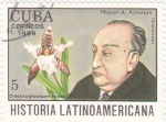 Sellos del Mundo : America : Cuba :  Miguel A.Asturias-História latinoamericana