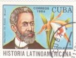 Sellos del Mundo : America : Cuba :  Machado de Assis-História latinoamericana