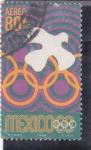 Sellos del Mundo : America : México :  olimpiada México-68