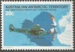 Sellos del Mundo : Oceania : Territorios_Antárticos_Australianos : 50 aniversario del primer vuelo sobre el Polo Sur (35)