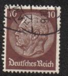Sellos de Europa - Alemania -  Paul von Hindenburg (1847-1934), 2nd President