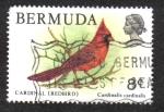 Sellos del Mundo : America : Bermudas : Cardinal