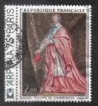 Sellos de Europa - Francia -  Cardenal de Richelieu ( 1602-1674 ) . Por Philippe de Champaigne