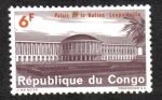 Sellos del Mundo : Africa : República_Democrática_del_Congo : Palacio de La Nación, Leopoldville ( Kinshasa )