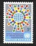 Sellos del Mundo : America : ONU : Federación Mundial, New York