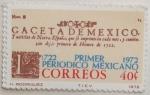 Sellos del Mundo : America : México : primer periodico mexicano