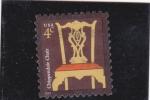 Sellos de America - Estados Unidos -  silla
