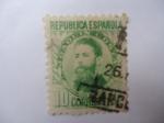 Sellos de Europa - España -  Ed:664 - Joaquín Costa (1846-1911) - Fomentar el Arbol.