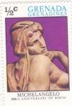 Sellos de America - Granada -  Michelangelo