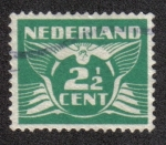 Sellos del Mundo : Europa : Holanda : Flying Dove