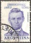 Sellos del Mundo : America : Argentina : Abraham Lincoln