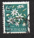 Sellos del Mundo : Oceania : Nueva_Zelanda : Pikiarero , Dulce Otoño Clemátide ( Clematis paniculata )