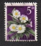 Sellos del Mundo : Oceania : Nueva_Zelanda : Flor Matua-Tikumu