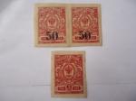 Sellos de Europa - Rusia -  Escudo de Armas de los Romanov- (1989 al 1919) Sin Dentar.