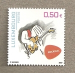 Sellos del Mundo : Europa : Luxemburgo : Rock hall