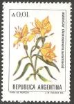 Sellos del Mundo : America : Argentina : Flor de Amancay